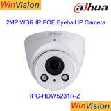 Câmera Ipc-Hdw5231r-Z do IP de Dahua da abóbada do ponto de entrada 60fps 2MP da câmera do CCTV da luz das estrelas