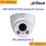 Câmara CCTV Starlight Poe 60fps 2 MP Dahua Dome IP Camera Ipc-Hdw5231r-Z