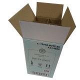 Contenitore impaccante di elemento portante della birra delle bottiglie dei contenitori di birra su ordinazione di marchio con i divisori 6 bottiglie