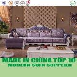 Modernes Wohnzimmer-Möbel-Samt-Gewebe-Luxuxsofa-Set