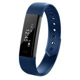 Het hart-Tarief van de Armband ID115 van de Sport van de pedometer Waterdichte Slimme Monitor