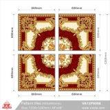 Matériau de construction modèle personnalisé tapis en dalles de plancher (VA12P6068, 600x600mm+1200X1200mm)