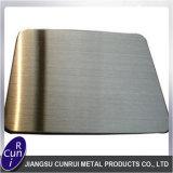 Hl no. 4 dello strato dell'acciaio inossidabile del commestibile 304 304L per la cucina