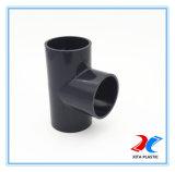 Pn10/PN16 PVC igual t con 400mm para el suministro de agua