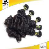 毛は良質7Aのブラジルの毛のよこ糸を継ぎ合わせる