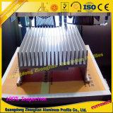 Perfil modificado para requisitos particulares del disipador de calor de Auminum para la industria