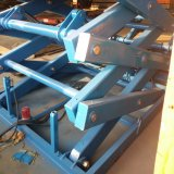 Type stationnaire hydraulique verticale table élévatrice à ciseaux
