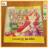 Livre pour enfant obligatoire de panneau de couleur de Fil-o de qualité
