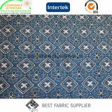 Fabricante teñido hilado colorido de China de la tela de la tapicería de Hometextile del sofá del telar jacquar de la manera