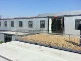 Prefab лагерь дома контейнера для перевозок/дома контейнера для сбывания