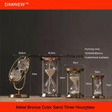 Regalo unico della clessidra dell'orologio della sabbia della decorazione del ricordo di affari
