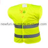 Куртка высокой отражательной ленты отражательная с короткой втулкой
