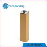 Batería Emergency portable de la potencia del cargador 2200mAh del rectángulo de madera