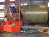 GRP FRPタンク装置のガラス繊維の容器の巻上げ機械