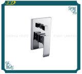 Misturador inoxidável do chuveiro do banheiro do punho da placa de aço da alta qualidade único