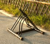Cremalheira Foldable e portátil da bicicleta para o estacionamento da bicicleta