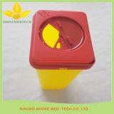 Scharf-Behälter-scharfer Kasten-medizinischer Abfallbehälter