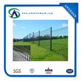 Triangle dépliant la frontière de sécurité soudée de treillis métallique 3D