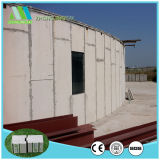 Léger et résistant au feu des matériaux de construction/EPS panneau sandwich de ciment pour toiture/laminés