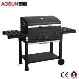 Barbecue au charbon de bois de plein air