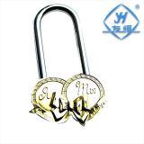 Double cadenas en laiton romantique de coeur pour la faveur de cadeau et de mariage du jour de Valentine