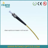 Cavo ottico della fibra delle trecce monomodali del collegamento di FC/APC
