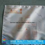 Impresso em tecido para caixa de luz LED com borda de silício