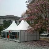 tienda transparente de la pagoda del Gazebo de la carpa de la boda de los 6X6m para el acontecimiento