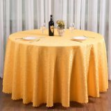Paño de vector rectangular del restaurante del paño de vector de la boda del mantel del modelo de la manera del poliester del paño moderno de la mesa redonda