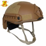 De hoogwaardige Militaire Snelle Kogelvrije Helm van Kevlar Aramid
