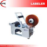 De semi-auto Ronde Machine van de Etikettering van Labeler van de Fles van China