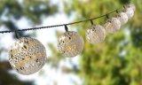 LEIDENE de Op batterijen van de Marokkaans-stijl Lichte Reeksen van het Koord