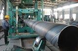 Grande uso della costruzione di ponticello del tubo d'acciaio di formato, asta di perforazione, tubo saldato acciaio a spirale d'acciaio di Mld