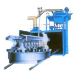Q36 GB Standardschwenktisch-Laufkatze-Granaliengebläse-Reinigungs-Maschine