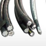 Cavo di ABC con il cavo nudo di servizio conduttore di alluminio duplex/Triplex/Quadruplex di goccia