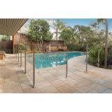 수영풀 방책 유리제 가로장 또는 발코니 방책