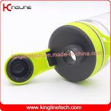botella de la coctelera de la proteína 800ml con el mezclador plástico (KL-7036)
