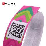 13.56MHz Ntag NFC216 la RFID passive Bracelet tyvek papier