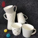 Taza de cerámica de la taza de té del diseño simple del surtidor de la fábrica para el regalo