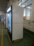 1200L tre congelatori della visualizzazione del gelato del portello di vetro