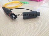 H 눈 연결관 Optitap 1개의 섬유 단 하나 관 옥외 잠바