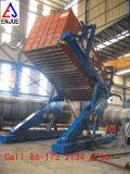 Schlussteil-hydraulisches Laden und Aus dem Programm nehmen des Behälter-Kipper-Behälter-Kippens