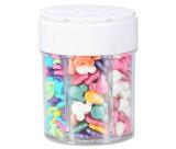 최상 심혼 모양 소형 플라스틱 사탕 단지