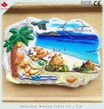 Impression de transfert de Mallorca Beach Fridge Magnet en espagnol de souvenirs touristiques