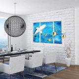 大きく取り外し可能な浜の海3DのWindowsのステッカーの壁のステッカーのホーム装飾エキゾチックな浜の眺めの芸術の壁紙の壁画