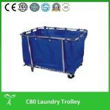 Chariot de blanchisserie professionnel, chariot à blanchisserie, (C80)