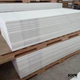 2017 Venda quente acrílico branco puro de superfície sólida para painel de parede