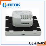 Controlador de temperatura programável do termostato do quarto de Digitas da tela de toque com eletricidade