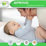 Weiche Bambusterry-Tuch-oder wasserdichtes TPU Baby-ändernde Auflage-Zwischenlagen - 3 Satz