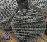 Âme en nid d'abeilles en aluminium de couleur de noir de forme ronde pour la partie légère de lampe
